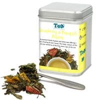 Strawberry and Pineapple Passion Green and White Loose Leaf Tea